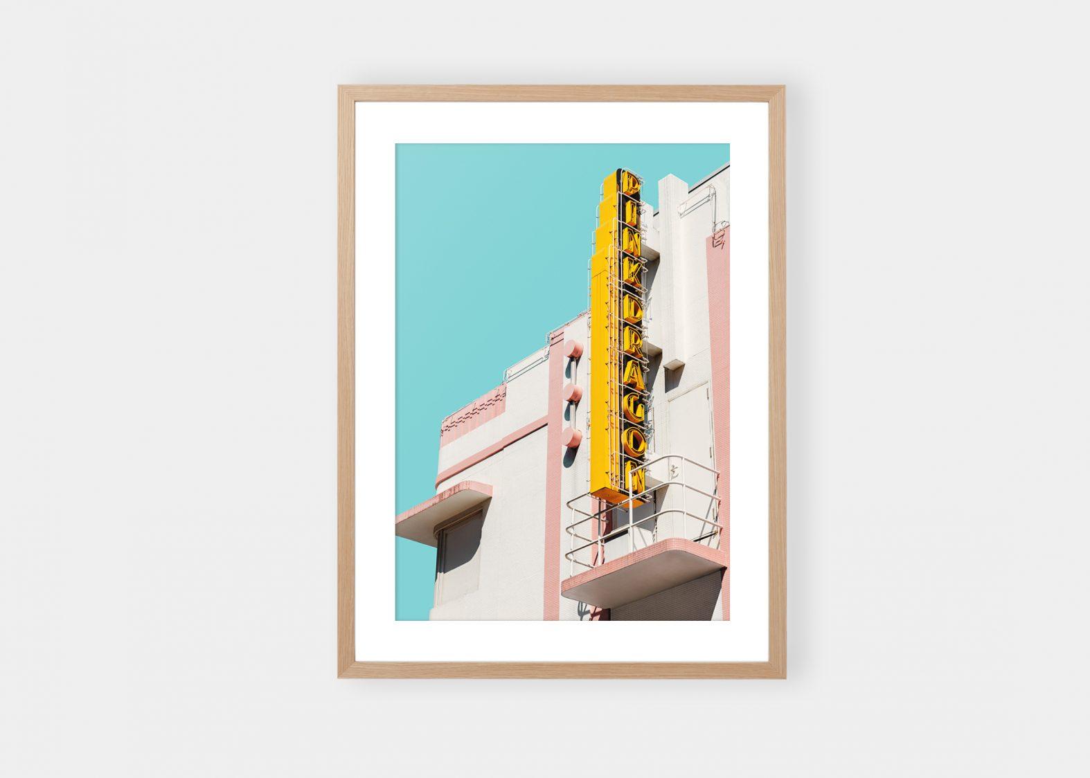 Pink Dragon Fine Art fotokunst til salgs på nett | Printet på Fineart papir